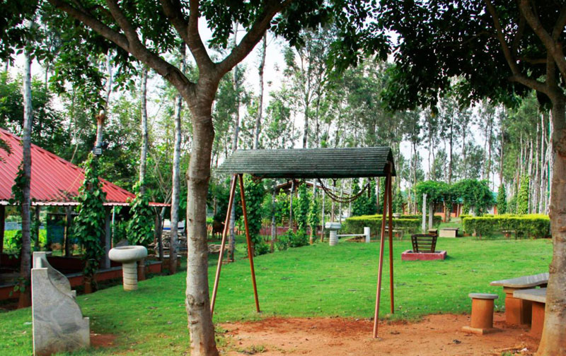 La Flora Sharmada Hidden Nest Resort Mysore