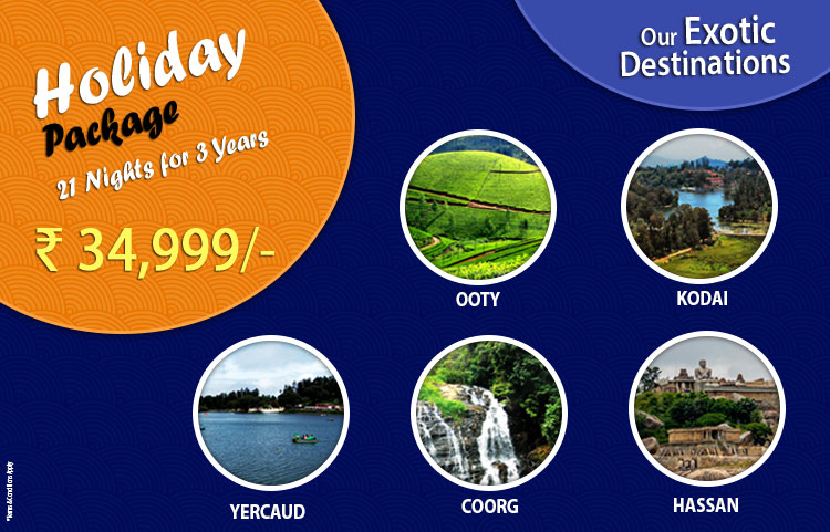 Holiday Package Special Offer